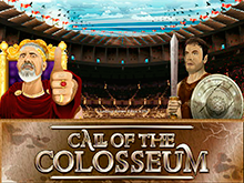 Игра на биткоины в игровом автомате Call Of The Colosseum